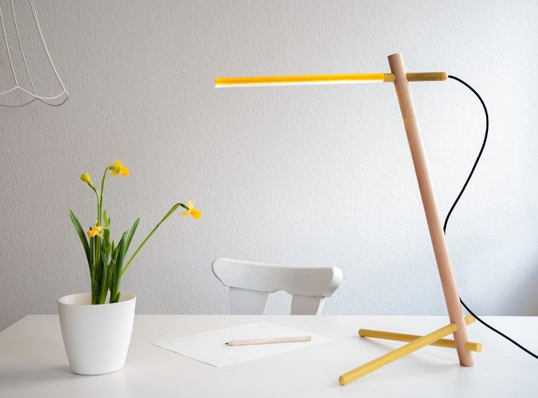 Structo Lamp by Naty Moskovich & Iddo Zimmerman