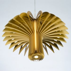 Shroom Pendant Light by Maurice L. Dery
