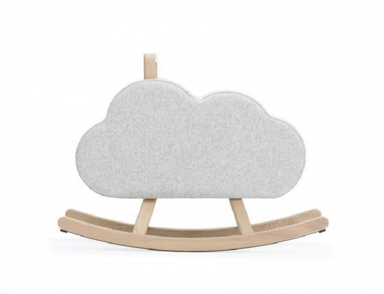 Iconic Cloud Chair Rocking Chair by Pia Weinberg