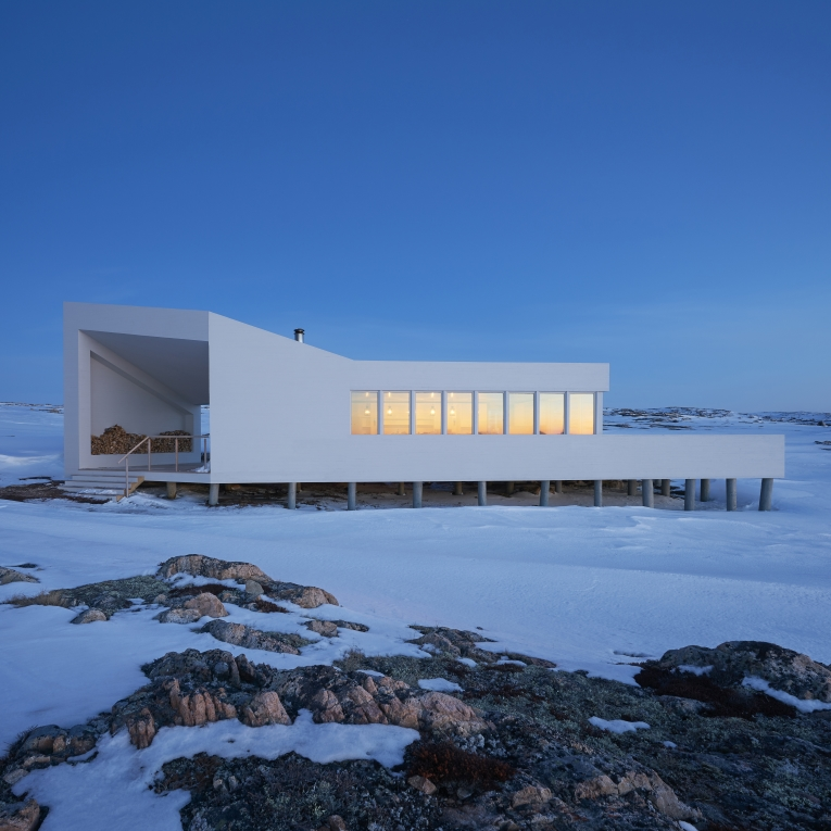 Fogo Island Shed by Todd Saunders